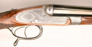 James Flynn Guyot 16 gauge double-barrel shotgun
